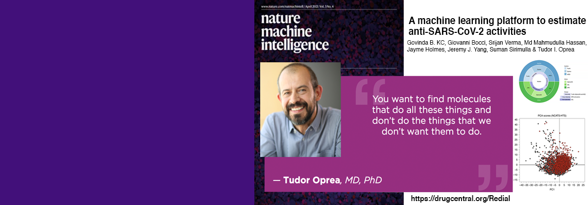UNM Team Led by The University of New Mexico's Tudor Oprea, MD, PhD, Creates Powerful Computational Tool to Help Researchers Rapidly Screen Molecules for Anti-COVID Properties